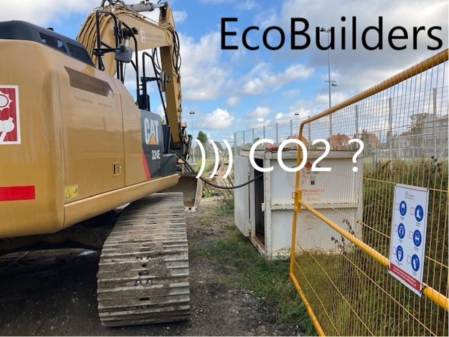 EcoBuilders – fossil-free emission from construction sites through digitization